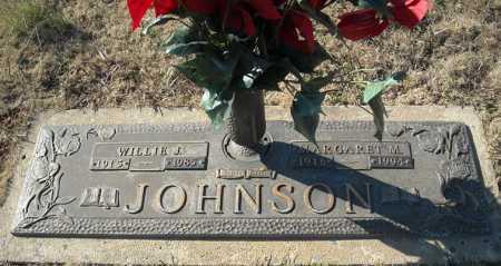 JOHNSON, WILLIE J. - Faulkner County, Arkansas | WILLIE J. JOHNSON - Arkansas Gravestone Photos
