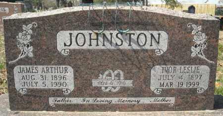 JOHNSTON, IVOR LESLIE - Faulkner County, Arkansas | IVOR LESLIE JOHNSTON - Arkansas Gravestone Photos