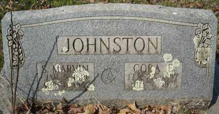 JOHNSTON, S. MARVIN - Faulkner County, Arkansas | S. MARVIN JOHNSTON - Arkansas Gravestone Photos