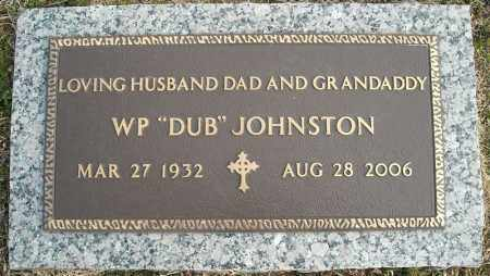 "JOHNSTON, W.P. ""DUB"" - Faulkner County, Arkansas 