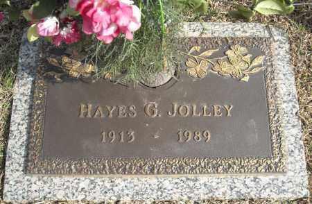 JOLLEY, HAYES G. - Faulkner County, Arkansas | HAYES G. JOLLEY - Arkansas Gravestone Photos