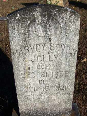 JOLLY, HARVEY BEVILY - Faulkner County, Arkansas | HARVEY BEVILY JOLLY - Arkansas Gravestone Photos