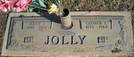 JOLLY, GEORGE L. - Faulkner County, Arkansas | GEORGE L. JOLLY - Arkansas Gravestone Photos