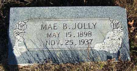 JOLLY, MAE B. - Faulkner County, Arkansas | MAE B. JOLLY - Arkansas Gravestone Photos