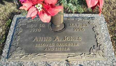 JONES, ANNE A. - Faulkner County, Arkansas | ANNE A. JONES - Arkansas Gravestone Photos