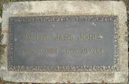 JONES, DOLLIE JANE - Faulkner County, Arkansas | DOLLIE JANE JONES - Arkansas Gravestone Photos