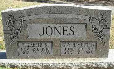 "JONES SR., GUY H. ""MUTT"" - Faulkner County, Arkansas 