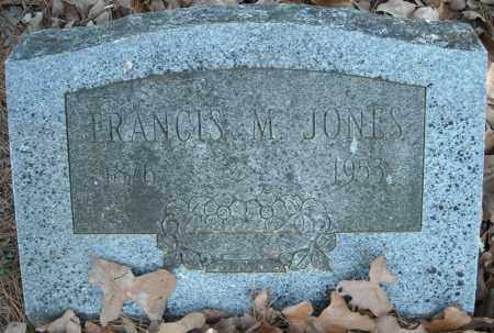 JONES, FRANCIS M. - Faulkner County, Arkansas | FRANCIS M. JONES - Arkansas Gravestone Photos
