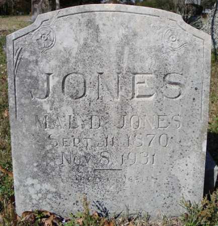 JONES, MAL D. - Faulkner County, Arkansas | MAL D. JONES - Arkansas Gravestone Photos