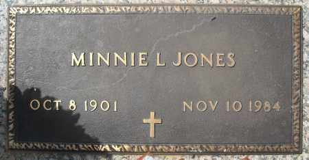 JONES, MINNIE LEA - Faulkner County, Arkansas | MINNIE LEA JONES - Arkansas Gravestone Photos