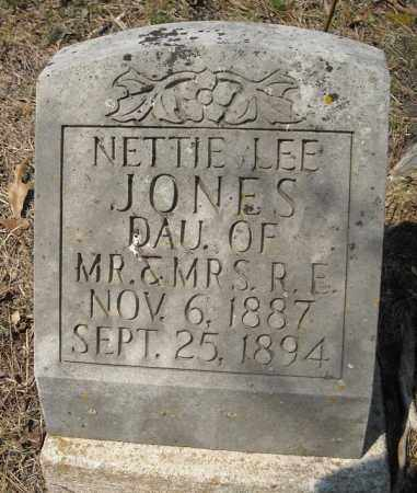 JONES, NETTIE LEE - Faulkner County, Arkansas | NETTIE LEE JONES - Arkansas Gravestone Photos