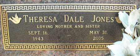 DALE JONES, THERESA - Faulkner County, Arkansas | THERESA DALE JONES - Arkansas Gravestone Photos