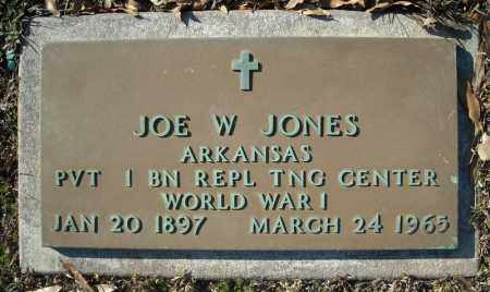 JONES (VETERAN WWI), JOE W - Faulkner County, Arkansas | JOE W JONES (VETERAN WWI) - Arkansas Gravestone Photos