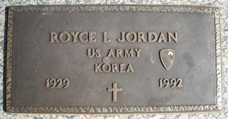 JORDAN (VETERAN KOR), ROYCE L - Faulkner County, Arkansas | ROYCE L JORDAN (VETERAN KOR) - Arkansas Gravestone Photos