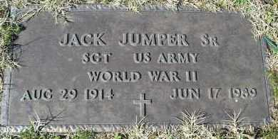 JUMPER, SR (VETERAN WWII), JACK - Faulkner County, Arkansas | JACK JUMPER, SR (VETERAN WWII) - Arkansas Gravestone Photos