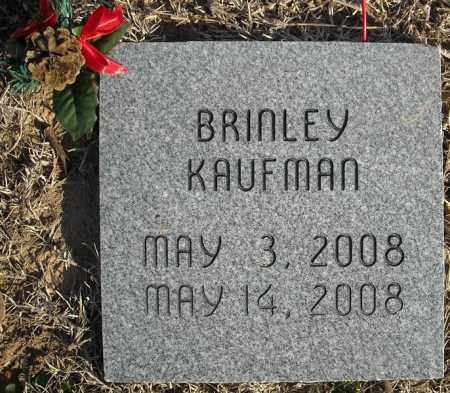 KAUFMAN, BRINLEY - Faulkner County, Arkansas | BRINLEY KAUFMAN - Arkansas Gravestone Photos