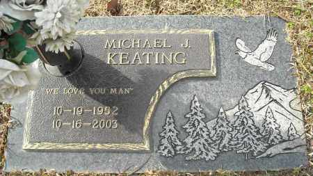 KEATING, MICHAEL J. - Faulkner County, Arkansas | MICHAEL J. KEATING - Arkansas Gravestone Photos
