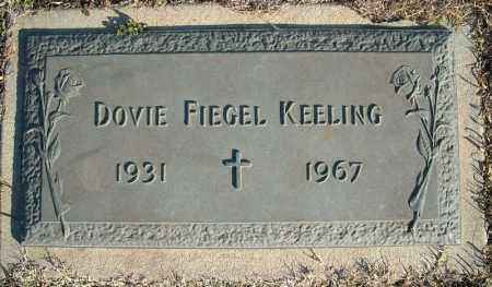 FIEGEL KEELING, DOVIE - Faulkner County, Arkansas | DOVIE FIEGEL KEELING - Arkansas Gravestone Photos
