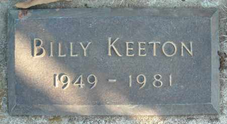 KEETON, BILLY - Faulkner County, Arkansas | BILLY KEETON - Arkansas Gravestone Photos