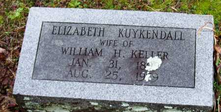 KUYKENDALL KELLER, ELIZABETH - Faulkner County, Arkansas | ELIZABETH KUYKENDALL KELLER - Arkansas Gravestone Photos