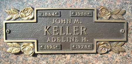 KELLER, ADELINE H. - Faulkner County, Arkansas | ADELINE H. KELLER - Arkansas Gravestone Photos