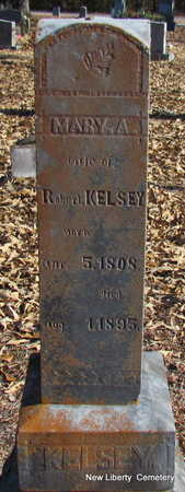 KELSEY, MARY A. - Faulkner County, Arkansas | MARY A. KELSEY - Arkansas Gravestone Photos