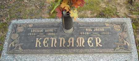LOVE KENNAMER, LUCILLE - Faulkner County, Arkansas | LUCILLE LOVE KENNAMER - Arkansas Gravestone Photos