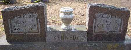KENNEDY, VELVA C. - Faulkner County, Arkansas | VELVA C. KENNEDY - Arkansas Gravestone Photos