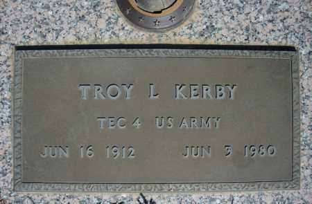 KERBY (VETERAN), TROY L - Faulkner County, Arkansas | TROY L KERBY (VETERAN) - Arkansas Gravestone Photos