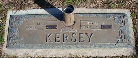KERSEY, LEE E. - Faulkner County, Arkansas | LEE E. KERSEY - Arkansas Gravestone Photos