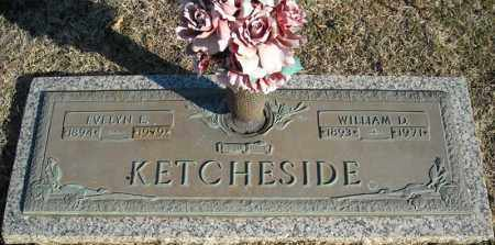 KETCHESIDE, EVELYN E. - Faulkner County, Arkansas | EVELYN E. KETCHESIDE - Arkansas Gravestone Photos