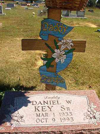 KEY, SR, DANIEL W. - Faulkner County, Arkansas | DANIEL W. KEY, SR - Arkansas Gravestone Photos