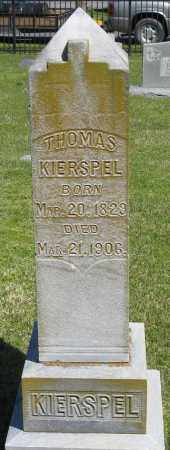 KIERSPEL, THOMAS - Faulkner County, Arkansas | THOMAS KIERSPEL - Arkansas Gravestone Photos