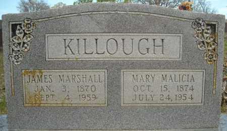 KILLOUGH, JAMES MARSHALL - Faulkner County, Arkansas | JAMES MARSHALL KILLOUGH - Arkansas Gravestone Photos