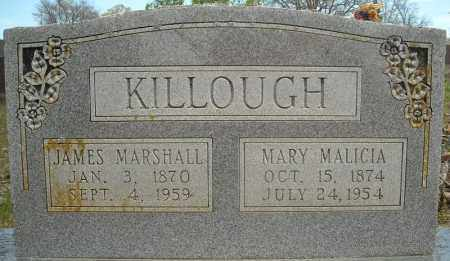 KILLOUGH, MARY MALICIA - Faulkner County, Arkansas | MARY MALICIA KILLOUGH - Arkansas Gravestone Photos