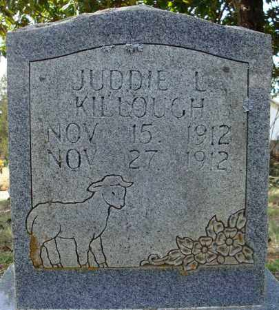 KILLOUGH, JUDDIE LEE - Faulkner County, Arkansas | JUDDIE LEE KILLOUGH - Arkansas Gravestone Photos