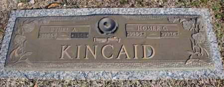 KINCAID, HOMER C. - Faulkner County, Arkansas | HOMER C. KINCAID - Arkansas Gravestone Photos