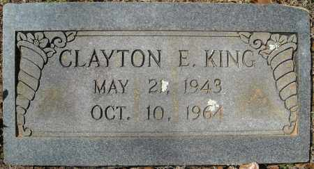 KING, CLAYTON E. - Faulkner County, Arkansas | CLAYTON E. KING - Arkansas Gravestone Photos