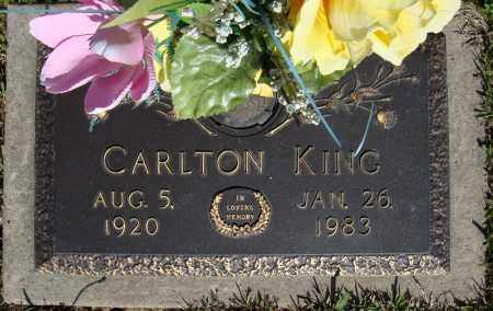 KING, CARLTON - Faulkner County, Arkansas | CARLTON KING - Arkansas Gravestone Photos