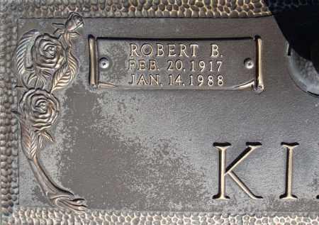 KING, ROBERT B. (CLOSE UP) - Faulkner County, Arkansas | ROBERT B. (CLOSE UP) KING - Arkansas Gravestone Photos
