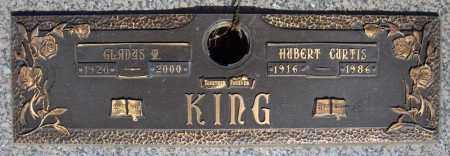 KING, HUBERT CURTIS - Faulkner County, Arkansas | HUBERT CURTIS KING - Arkansas Gravestone Photos