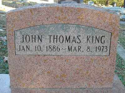 KING, JOHN THOMAS - Faulkner County, Arkansas | JOHN THOMAS KING - Arkansas Gravestone Photos