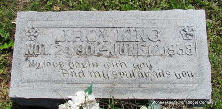 KING, J. ROY - Faulkner County, Arkansas | J. ROY KING - Arkansas Gravestone Photos