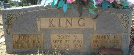 KING, JOHN H. - Faulkner County, Arkansas | JOHN H. KING - Arkansas Gravestone Photos