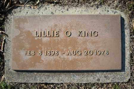 KING, LILLIE O. - Faulkner County, Arkansas | LILLIE O. KING - Arkansas Gravestone Photos