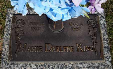 KING, MAMIE DARLENE - Faulkner County, Arkansas | MAMIE DARLENE KING - Arkansas Gravestone Photos