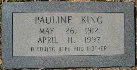 KING, PAULINE - Faulkner County, Arkansas | PAULINE KING - Arkansas Gravestone Photos