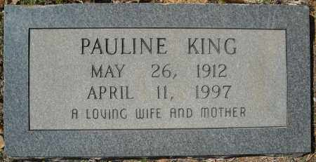 KING, PAULINE - Faulkner County, Arkansas | PAULINE KING - Arkansas Gravestone Photos