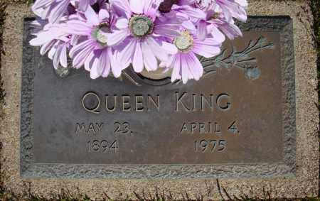 KING, QUEEN - Faulkner County, Arkansas | QUEEN KING - Arkansas Gravestone Photos