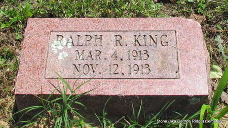 KING, RALPH R. - Faulkner County, Arkansas | RALPH R. KING - Arkansas Gravestone Photos